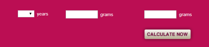 Screenshot 138 - Sugar Calculator
